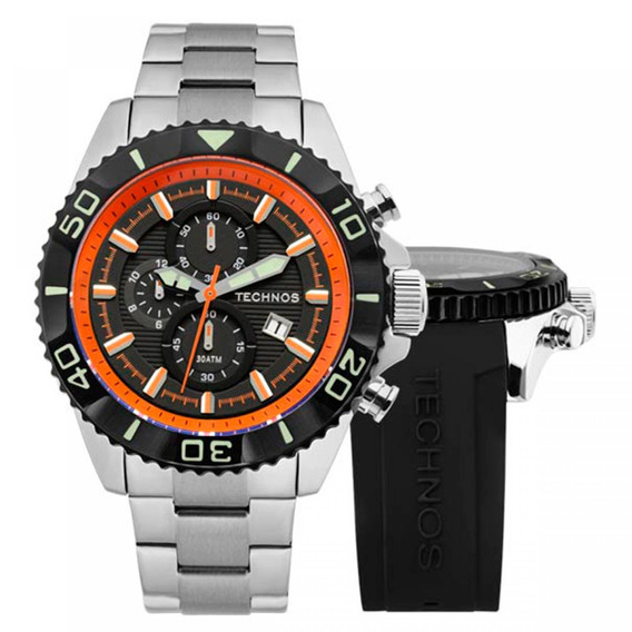 Relógio Technos Masculino Os10en/1p 004417rean