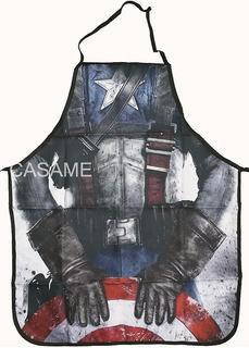 Mandil De Chef, Capitán América 3d. Avengers. Heróes.