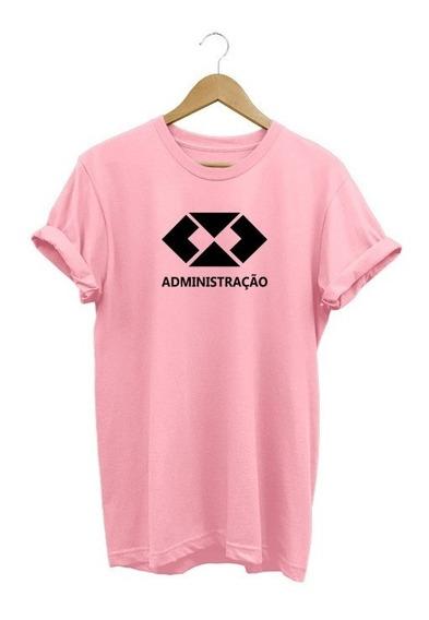 Camisa Feminina Babylook Administração Profissão Empreendedo