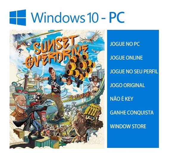 Sunset Overdrive Pc Windows 10 - Jogo Online Original