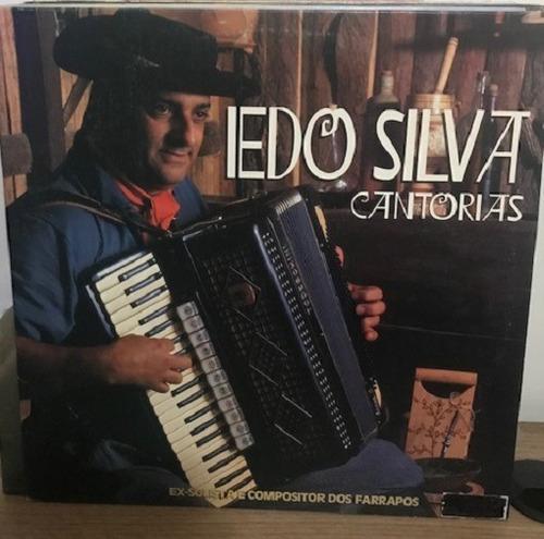 Imagem 1 de 2 de Lp - Iedo Silva - Cantorias