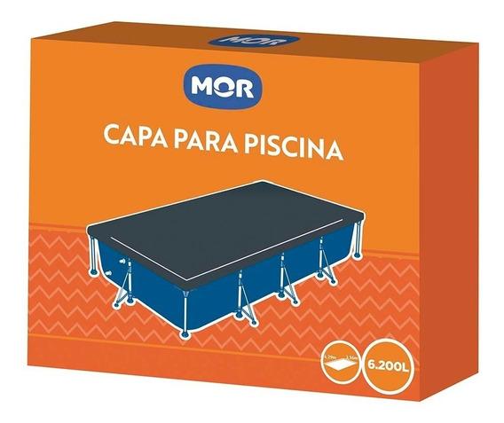 Capa Para Piscina Premium 6200 Litros Retangular - Mor