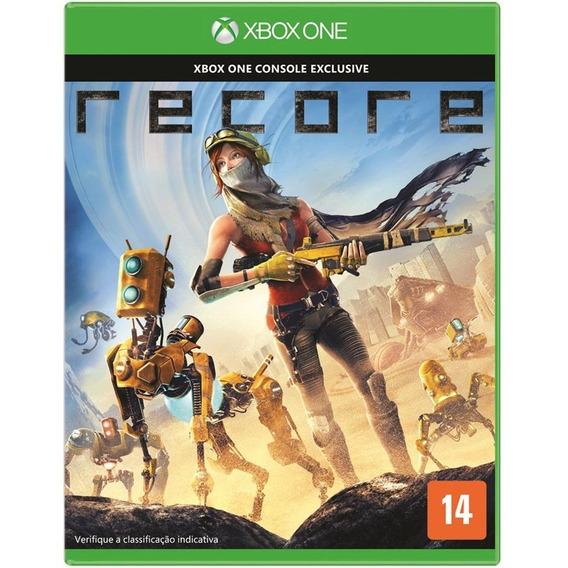 Game Recore Xbox One Disco Fisico Lacrado Dublado Promoção