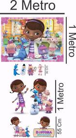 Totem Doutora Brinquedos Display Grande/painel 9 Unid Lindos