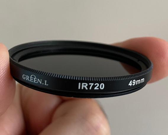 Filtro Infravermelho Green-l 720nm 49 Mm Para Câmera