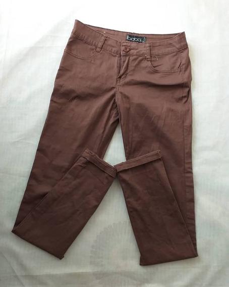 Pantalón De Vestir Marron