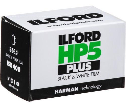 Filme Ilford Hp5 400 135 36 Poses 35mm P&b Exp Jun/23