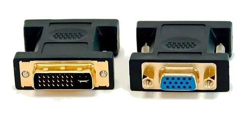 Imagen 1 de 5 de Adaptador Dvi-i Macho 24+5 Dual Link A Vga Hembra