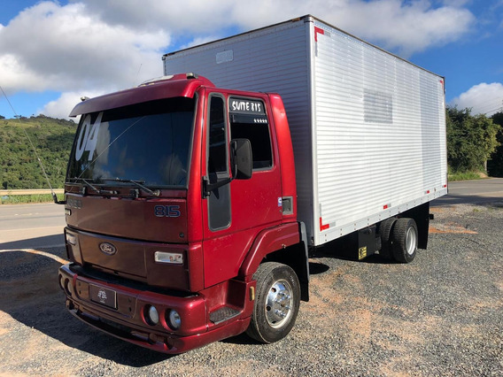 Ford Cargo 815 4x2 Baú Fs Caminhoes