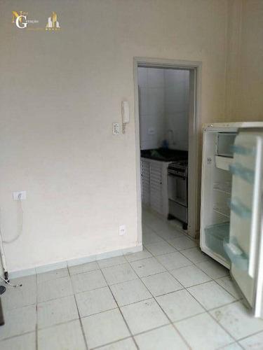 Imagem 1 de 5 de Kitnet À Venda, 22 M² Por R$ 96.000,00 - Ocian - Praia Grande/sp - Kn0496
