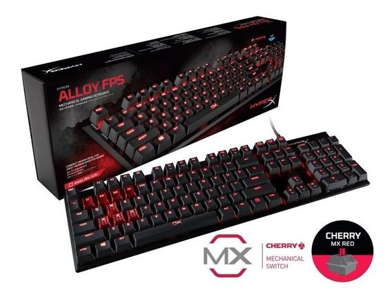 Teclado Gamer Hx-kb1rd1-na/a4 Mecanico Alloy Fps Red Mx R