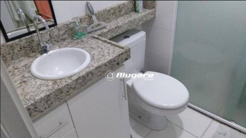Apartamento Com 2 Dormitórios À Venda, 49 M² Por R$ 250.000,00 - Jardim Las Vegas - Guarulhos/sp - Ap3103