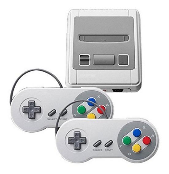 Mini Super Nintendo 2 Controles 620 Jogos Nintendinho