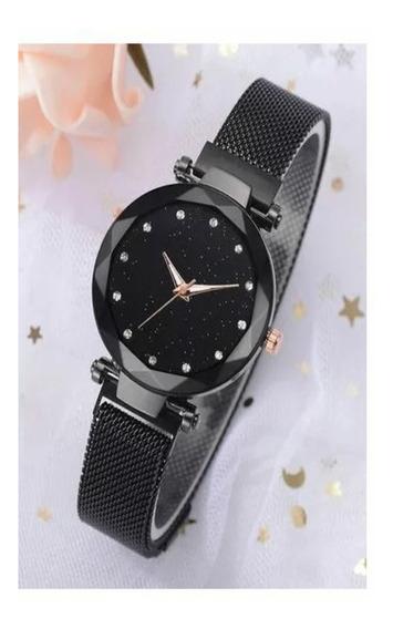 Lindos Relógios Feminino Fashion Céu Estrelado