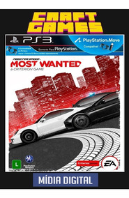 Need For Speed Most Wanted Ps3 Psn Digital Game