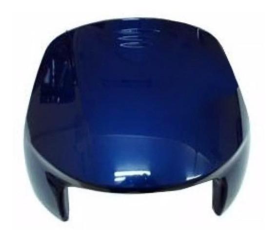 Bico Frontal Carenagem Honda Biz 100 2000 Azul Metálico