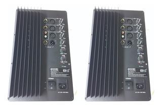 2 Modulos Amplificados 200 W Rms Ideal Rockolas Bafles