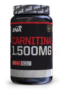 Quemador De Grasa Carnitina Pro Burn Ena Sport 60 Caps