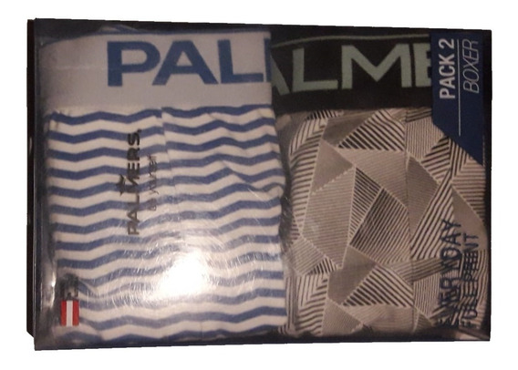 Pack 2 Boxer Palmers, Everyday Full Print.