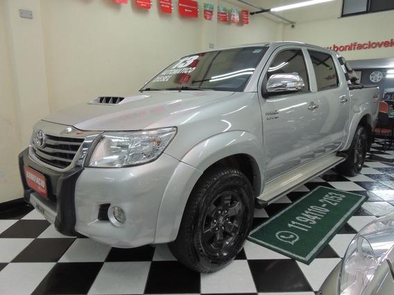 Toyota / Hilux 3.0 Cd 4x4 Srv Turbo - Diesel - Automático