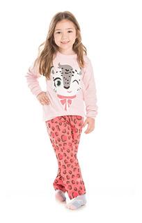 Pijama Bicho Bagunça Infantil Menina Oncinha