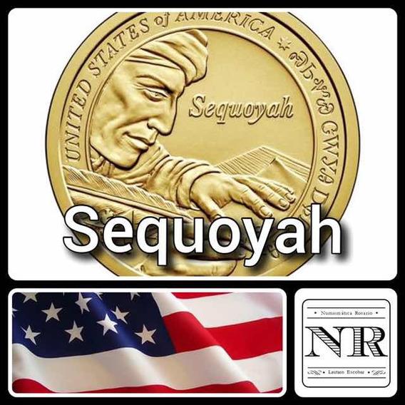 Nativa Americana 2017 - Sequoyah - Eeuu Sacagawea Dollar
