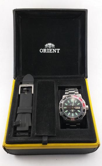 Relógio Orient Poseidon Automático 469ss039 Pvsx
