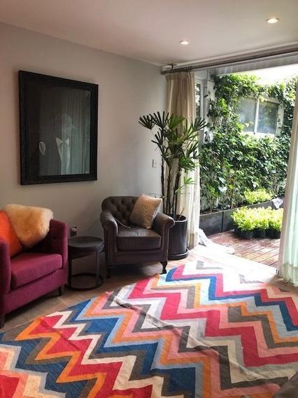 Increible Oportunidad!! Garden House Amueblado En Renta En Polanco