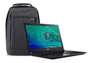 Laptop Acer 15.6 Ryzen3 6 Gb Ram 1 Tb + Mochila Acer 2019