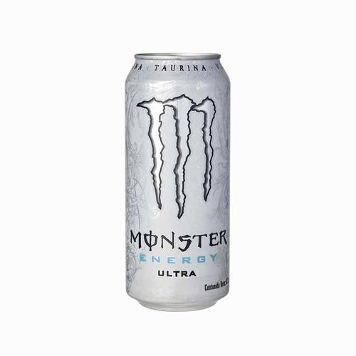 Imagen 1 de 2 de Energizante Monster Energy Ultra Lata 473 Ml Pack X 24
