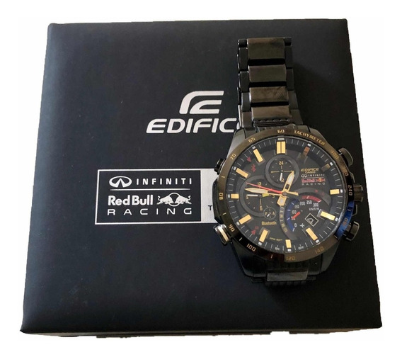 Relógio Casio Edifice Eqb500-dc1 Infiniti Redbull Racing