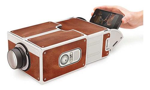 Imagen 1 de 5 de Mini Teléfono Inteligente Proyector Cine Portátil Uso En El