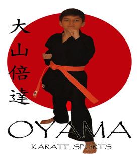 Karategui Negro Para Karate Kenpo Oyama Karate Sports