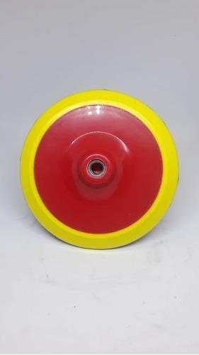 Imagen 1 de 2 de 3d Backing Plate De Puliretano 7  Rosca M14- Highgloss Rosa