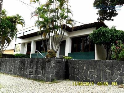 Casa Comercial Para Locação Em Casa Forte, Recife. - Ca0231