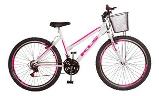 Bicicleta Kls Aro 26 Mtb Com Marcha E Aro Aero