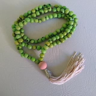 Japamala Feito Com Semente De Açaí Verde Ref: 9202