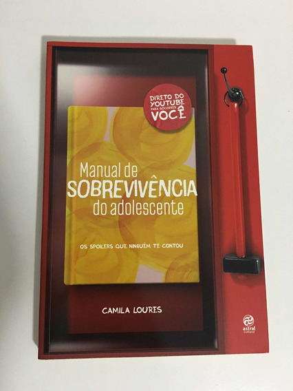Livro Manual De Sobrevivência Do Adolescente