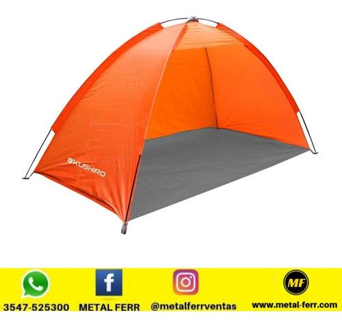 Carpa Kushiro Pinamar 2 Personas Playa Camping Pesca Outdoor