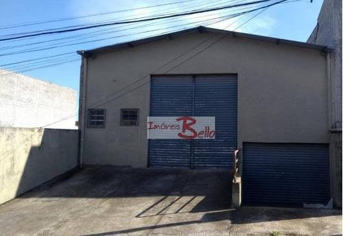 Imagem 1 de 5 de Galpão À Venda, 341 M² Por R$ 742.000 - Vila Rita - Itatiba/sp - Ga0049