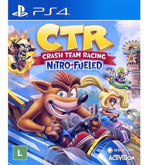 Crash Team Rancing Nitro Ps4 Digital 1 Primária Vitalicia