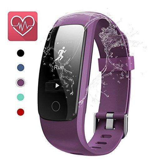 Keda Fitness Tracker, Oled Pantalla Táctil Reloj Inteligente
