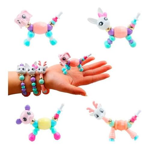Twisty Petz Beads Pulsera Mágica Manilla Mascota Moda Niñas