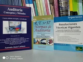 Auditoría Conceptos Metodos + Rt 37 Español + Rt Legislación
