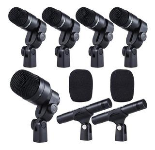 Micrófonos Takstar DMS-7AS cardioide negros