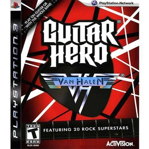 Guitar Hero Van Halen - Ps3 Mídia Física