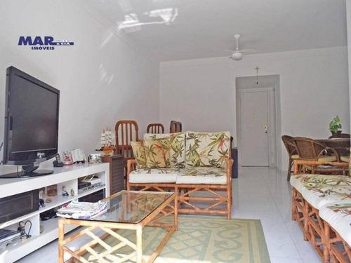 Imagem 1 de 13 de Apartamento  À Venda No  Guarujá, Na Praia Das Pitangueiras, Sacada, 02  Vagas De Garagem E Lazer. - Ap10358