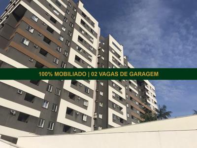 Apartamento No Anita Garibaldi | 02 Dormitórios | 02 Vagas | Semi Mobiliado - Sa00596 - 33714277