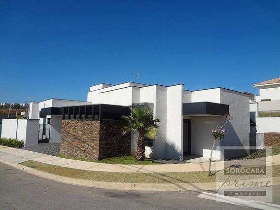 Casa Com 3 Dormitórios À Venda, 200 M² Por R$ 1.300.000 - Condomínio Residencial Giverny - Sorocaba/sp, Próximo Ao Shopping Iguatemi. - Ca0020
