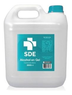 Bidon Alcohol En Gel 5 Litros Antibacterial Aprobado Anmat